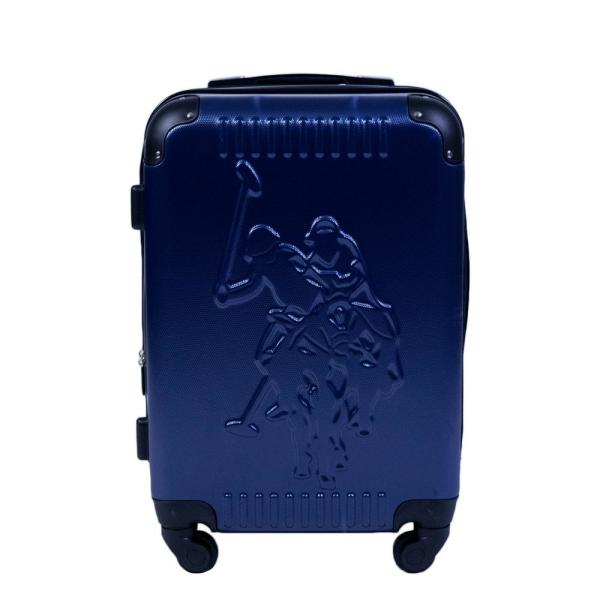 ef303332df U.S. Polo Assn. U.S Polo Assn. 21 in. Blue Hard Case Spinner Rolling  Suitcase ABPE5059-400 - The Home Depot