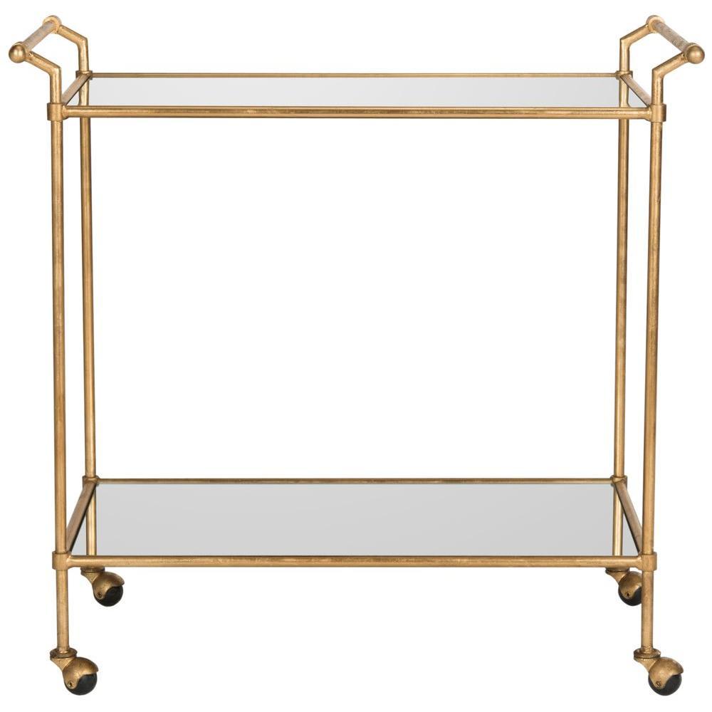 Felicity Gold Serving Cart
