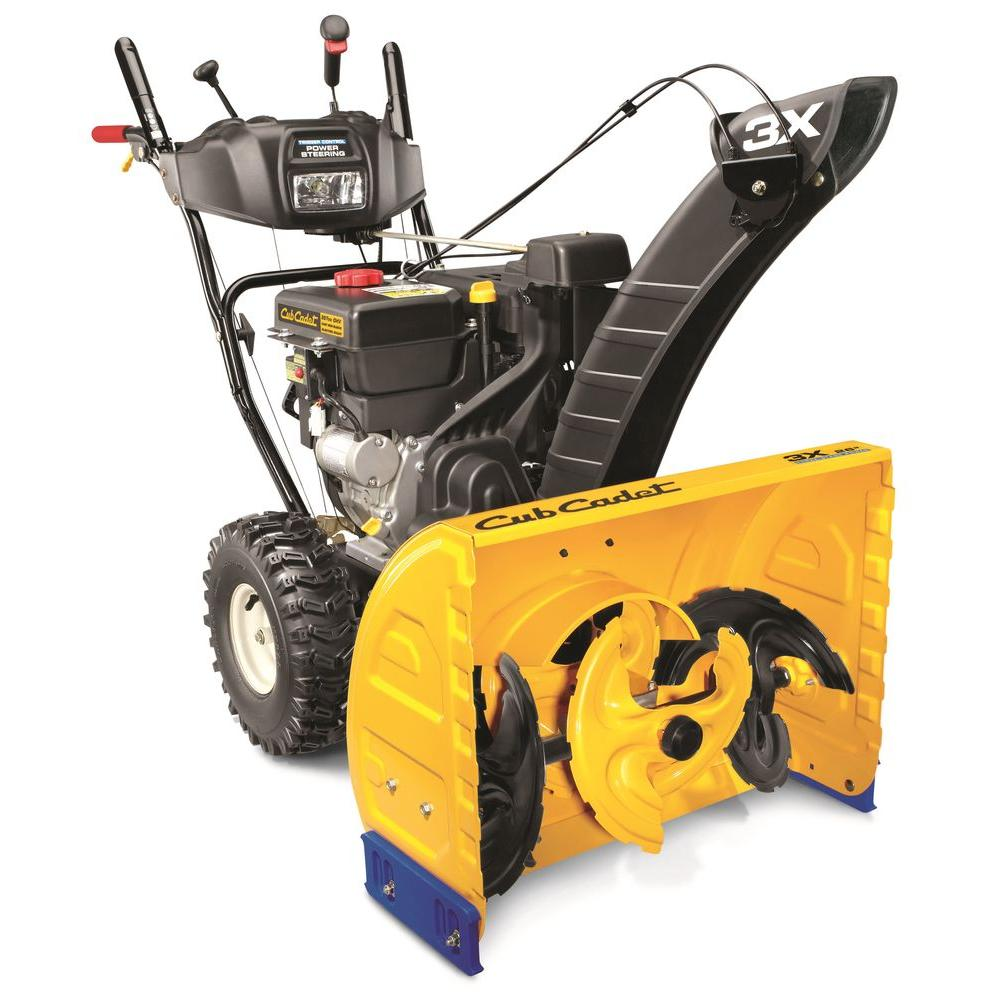 3X 26 in. 357cc 3-Stage Electric Start Gas Snow Blower with