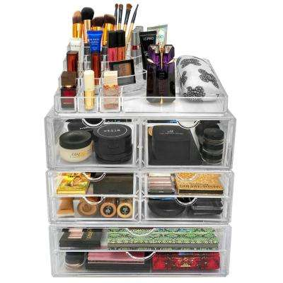 Sorbus 13.5 in. W x 8.75 in. H Acrylic Stackable 1-Cube Organizer