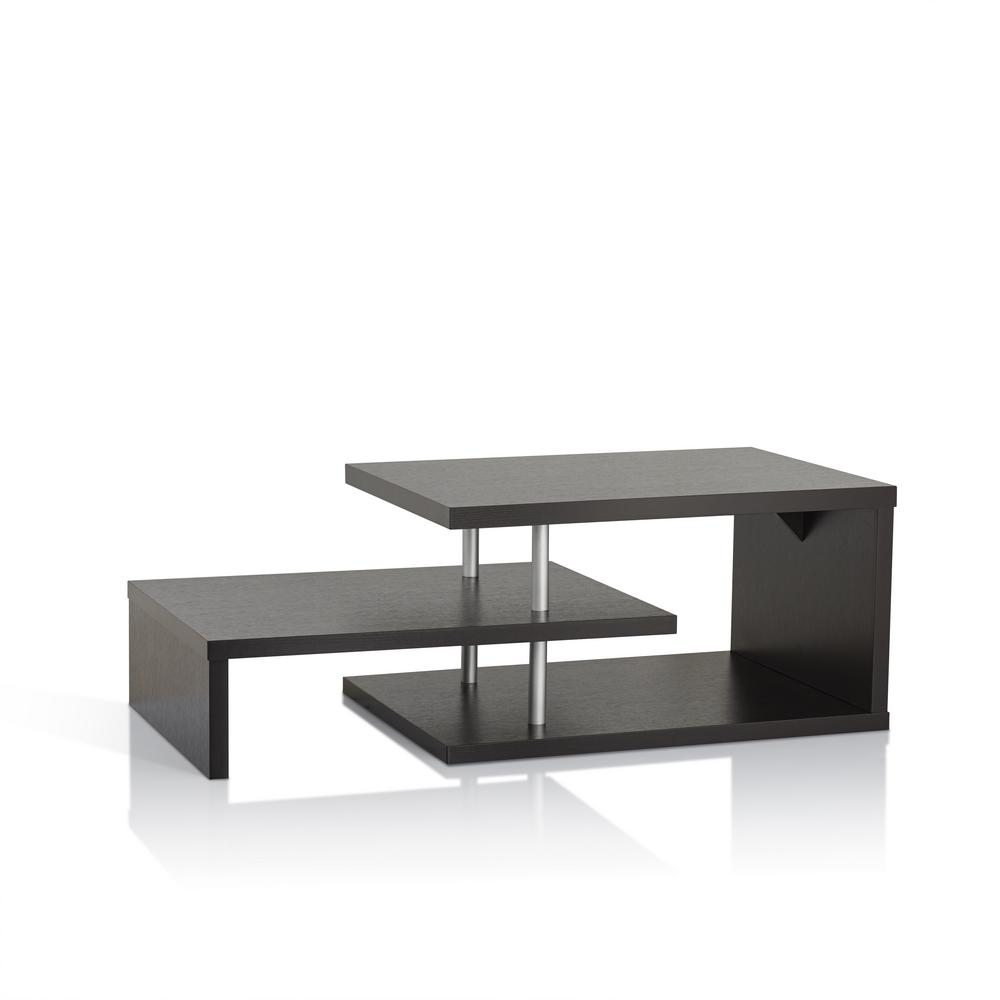 Furniture Of America Derrick Cappuccino Coffee Table Id 10350ct