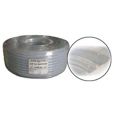 3/4 in. ID PVC Clear Reinforced Coil