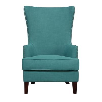 Kegan Teal Accent Chair