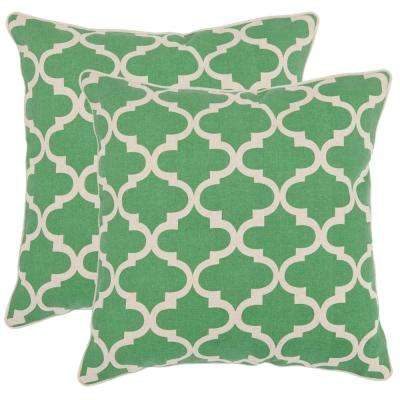 Suzy Printed Patterns Pillow (2-Pack)