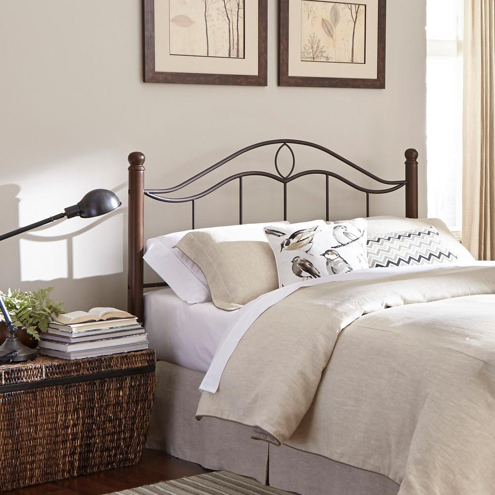 Fashion Bed Group Cassidy Mink Queen Metal Headboard With