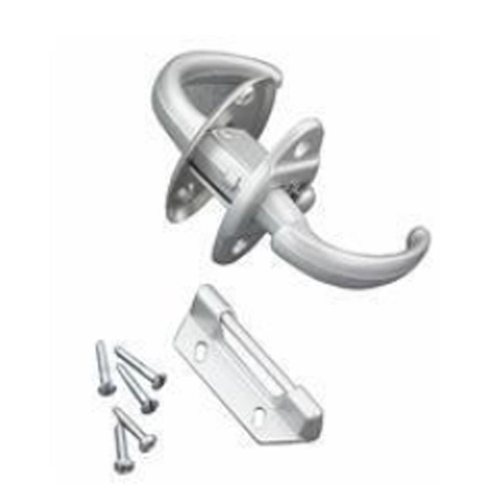Wright Products White Push-Pull Latch