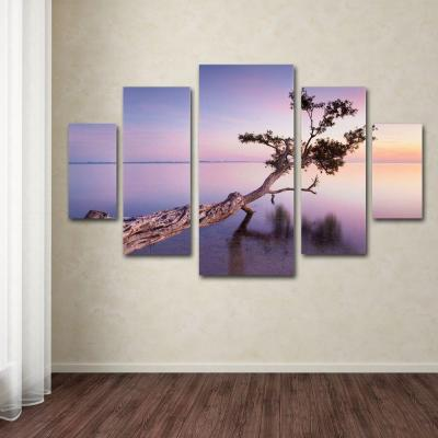 Water Tree XV by Moises Levy 5-Panel Wall Art Set