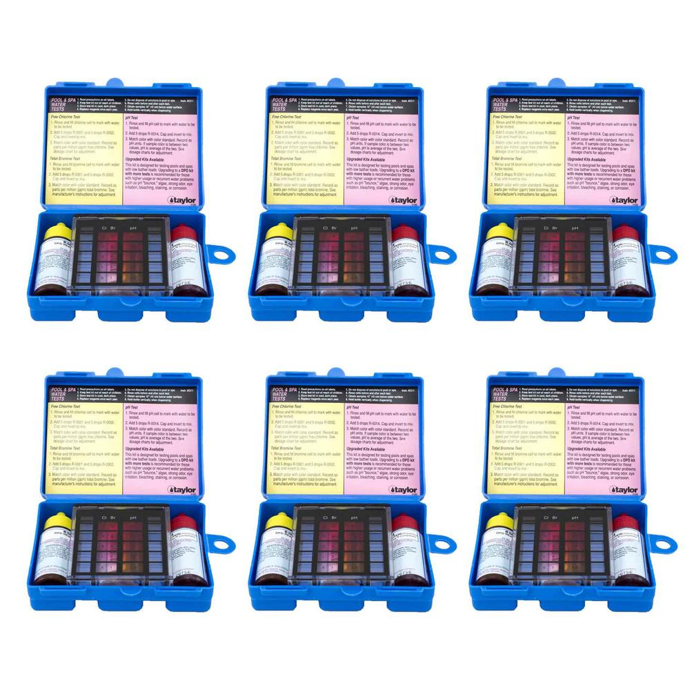 Pool Test Kits Amp Strips Pool Chemicals The Home Depot