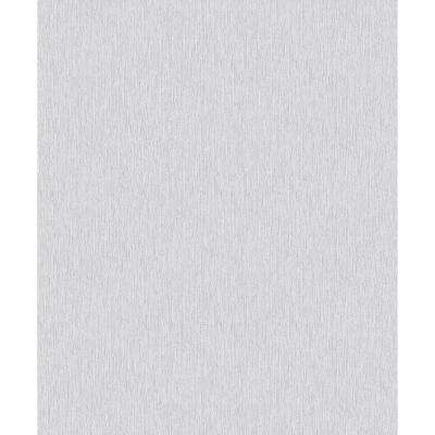 8 in. x 10 in. Lorian Taupe Vertical Texture Wallpaper Sample