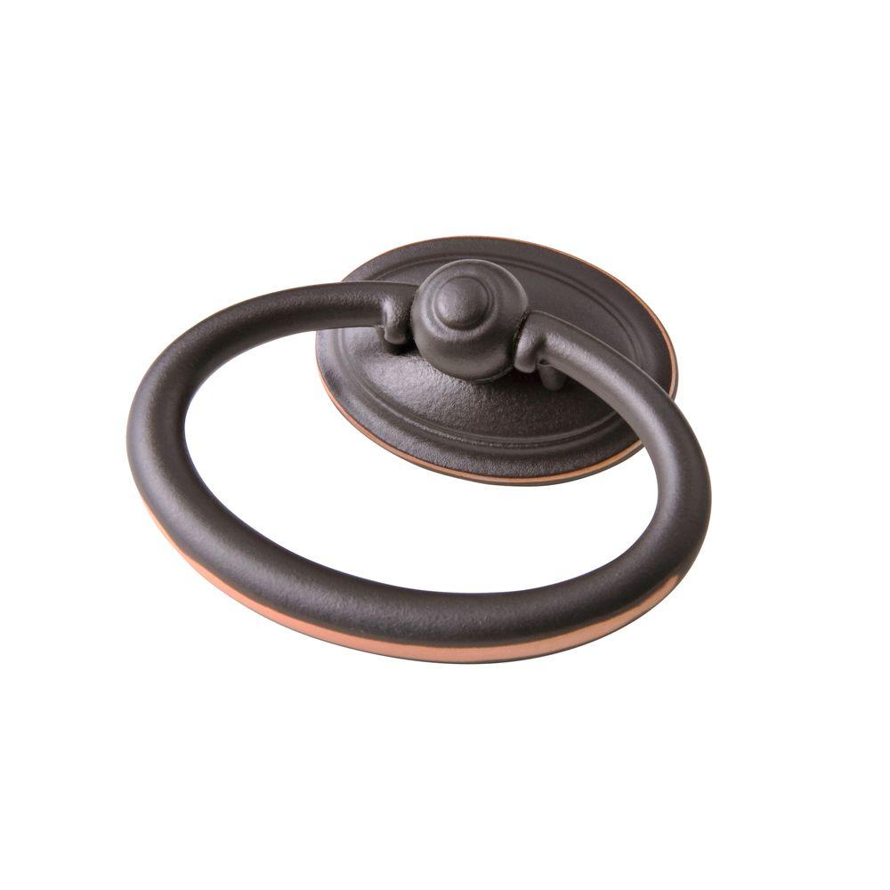 Symmetry 2 1 In Oval Oil Rubbed Bronze Ring Pull