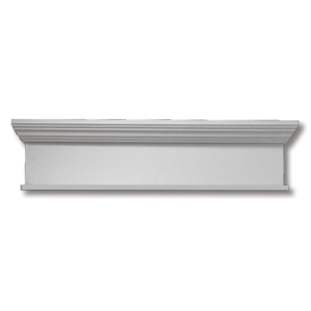 Fypon 84 in x 10 in x 4 1 2 in polyurethane window and for Fypon window trim