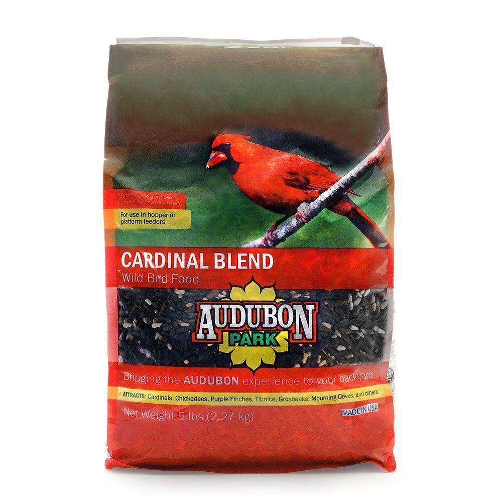 audubon park 5 lb cardinal blend wild bird food 12180 the home