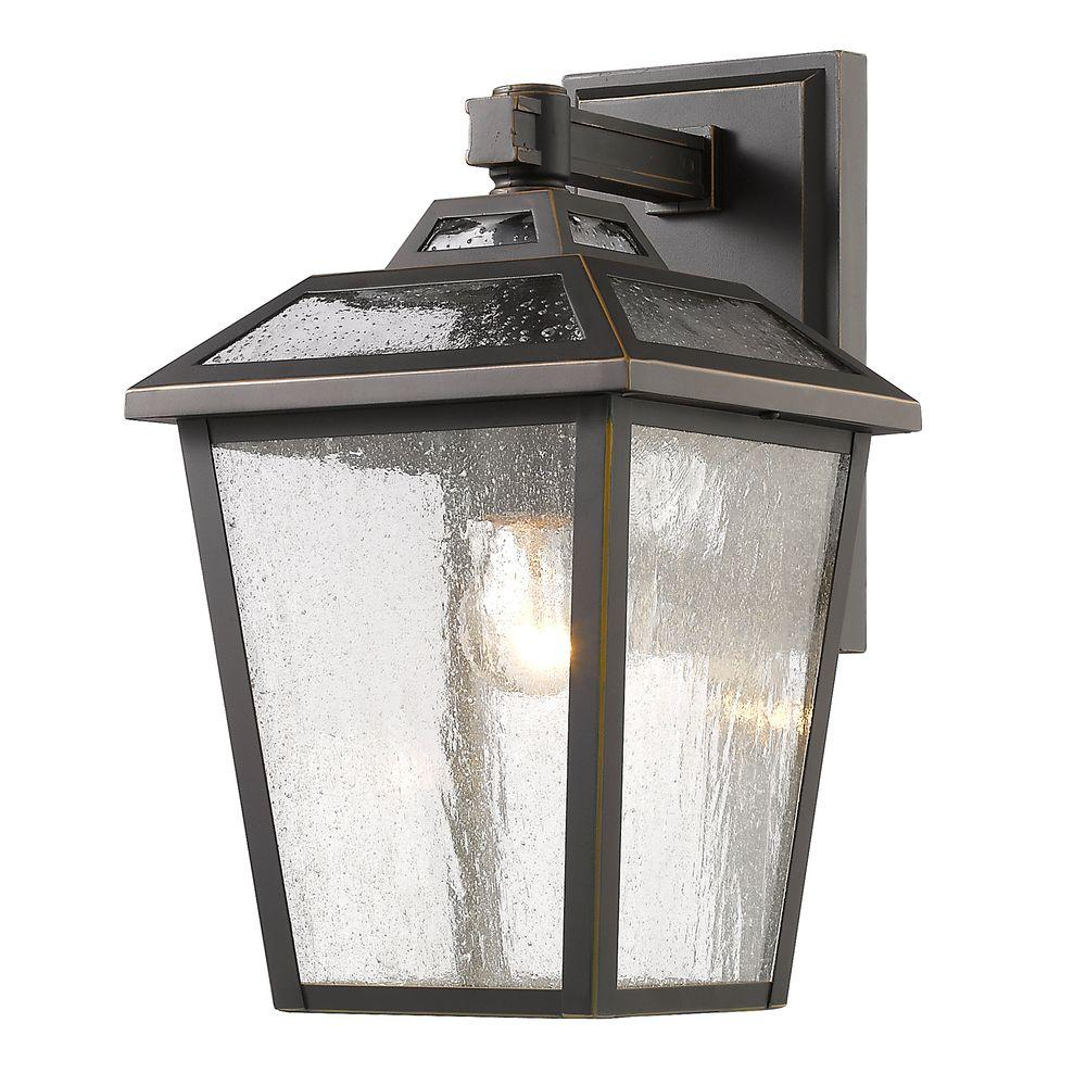 Wilkins 1 Light Oil Rubbed Bronze Outdoor Sconce