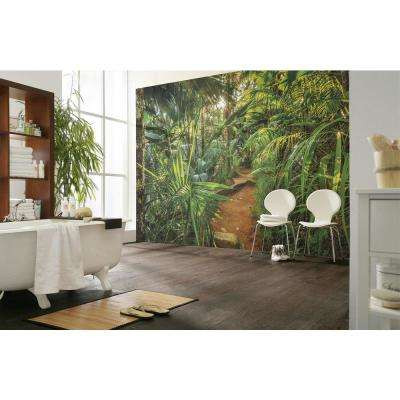 Nature Jungle Trail Wall Mural