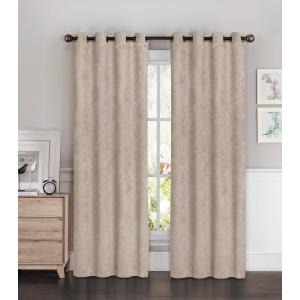 Bella Luna Blackout Faux Suede 54 inch W x 84 inch L Room Darkening Grommet Extra Wide... by Bella Luna