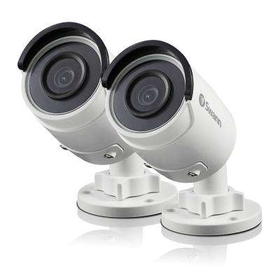 Swann Wired Indoor or Outdoor Bullet 5MP Super HD IP Security Standard Surveillance Camera (2-Pack)
