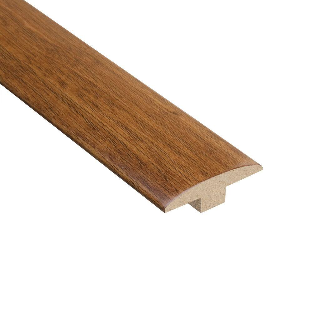 Home Legend Natural Acacia 3/8 in. Thick x 2 in. Wide x 78 in. Length Hardwood T-Molding