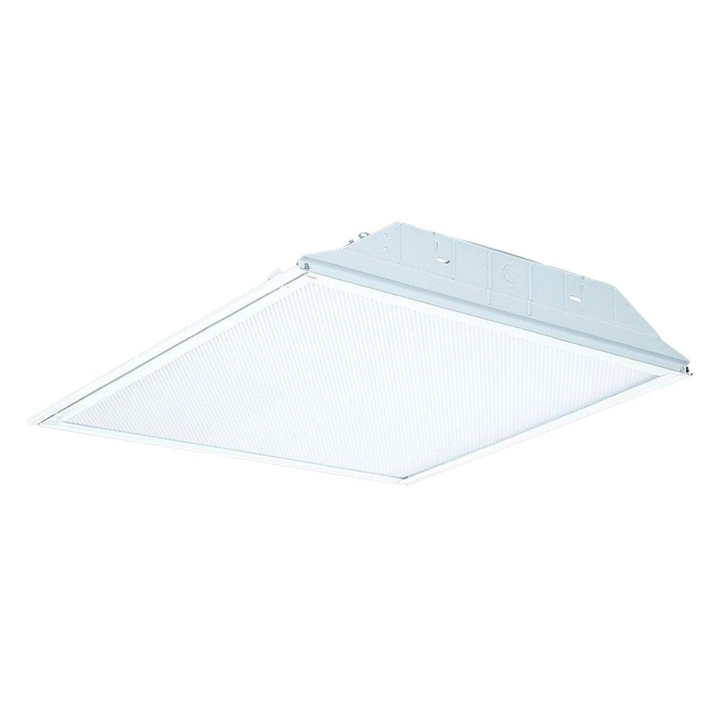 Lithonia Lighting 2 Ft X Light White Fluorescent Troffer