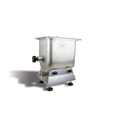 Big Bite Stainless Steel Fixed Position Meat Stand Mixer 50 lbs. for Big Bite Grinders #12 head or larger