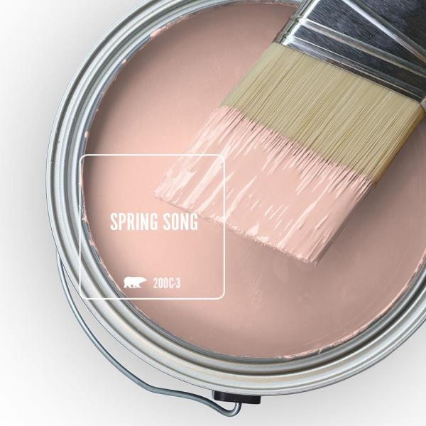 Reviews For Behr Premium Plus 5 Gal 200c 3 Spring Song Flat Low Odor Interior Paint And Primer In One 105005 The Home Depot