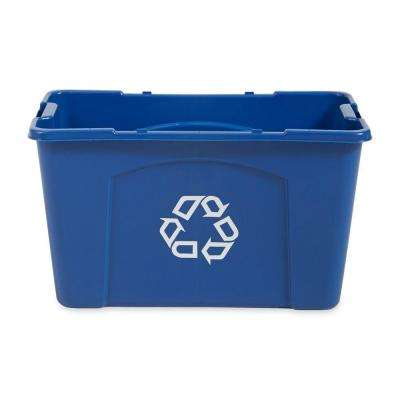 18 Gal. Blue Recycling Bin