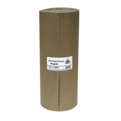 Easy Mask 15 IN. X 1000 FT. Brown General Purpose Paper