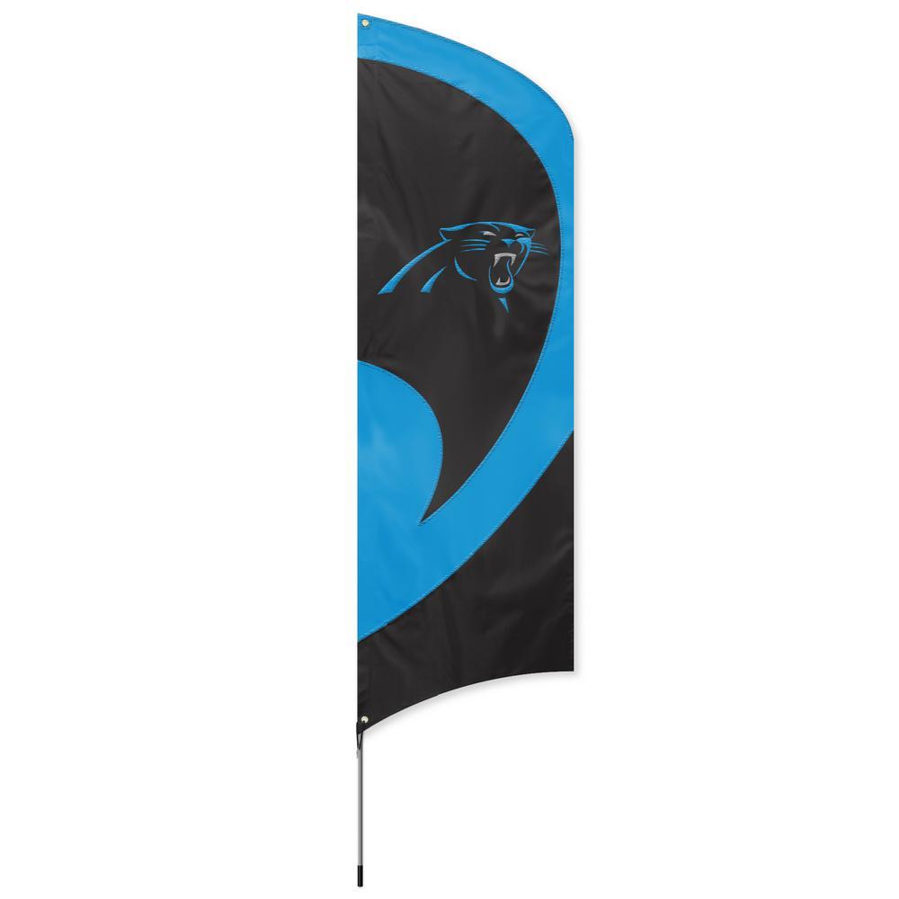 Carolina Panthers Tall Team Flag