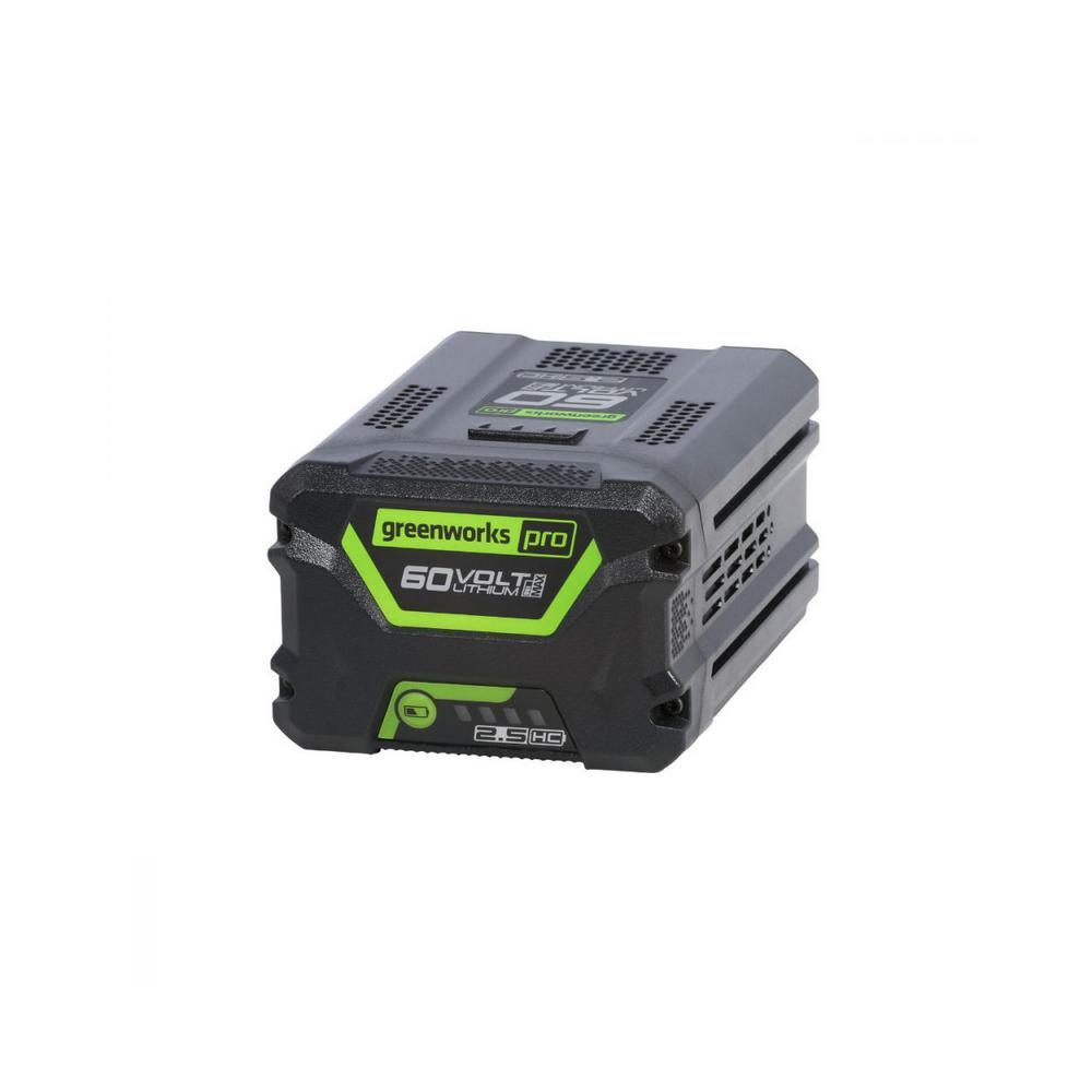 PRO 60-Volt Cordless Lithium-Ion 2.5 Ah Battery
