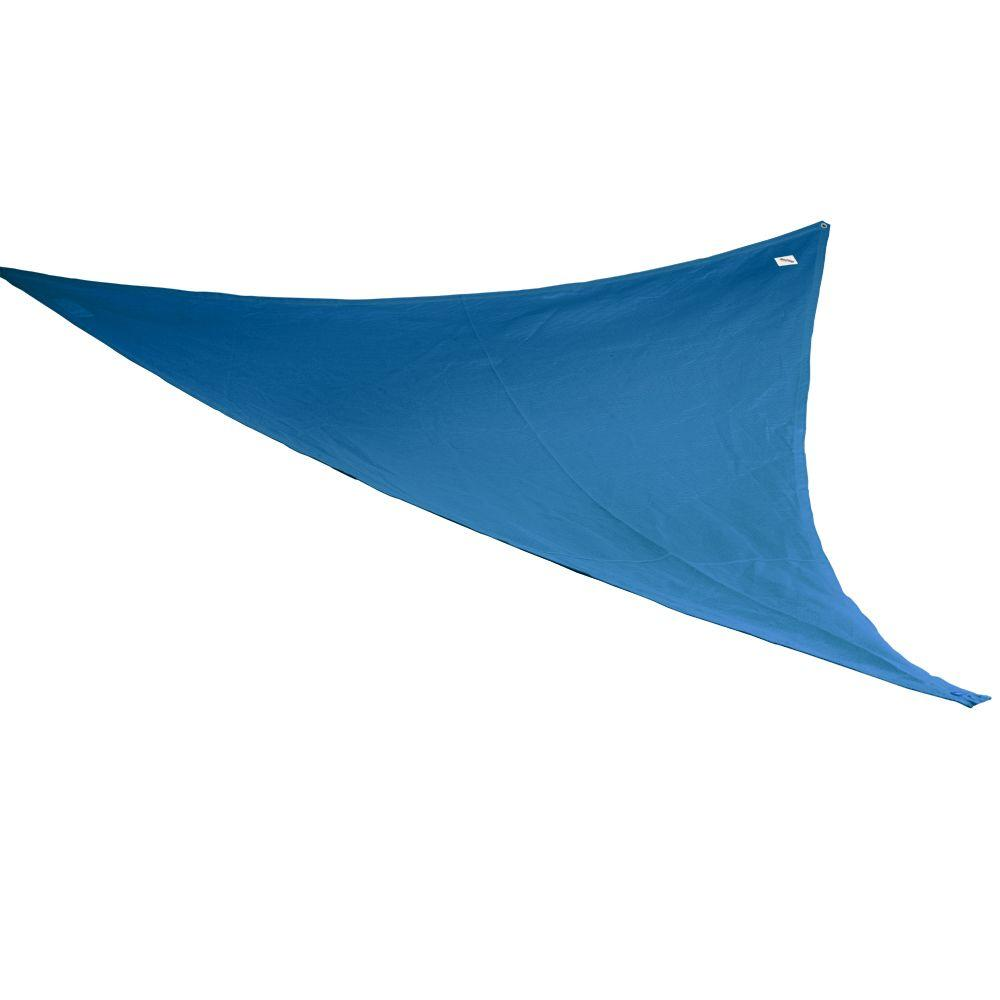 Coolaroo 9 ft. 10 in. Blue Triangle Party Sail