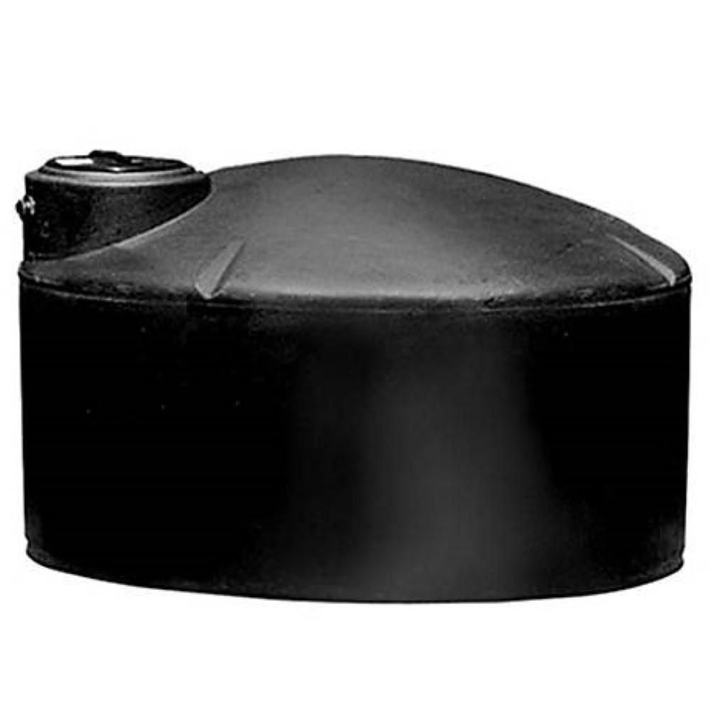 550 Gal. Black Vertical Water Tank