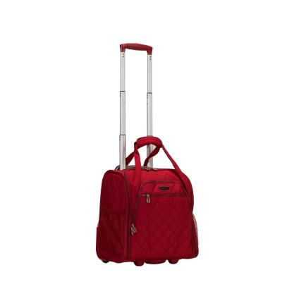 Red Melrose Wheeled Underseat Carry-On