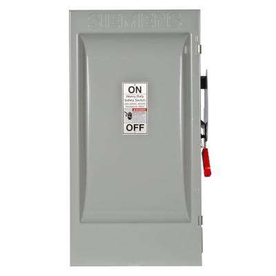 Heavy Duty 200 Amp 600-Volt 3-Pole Type 12 Fusible Safety Switch