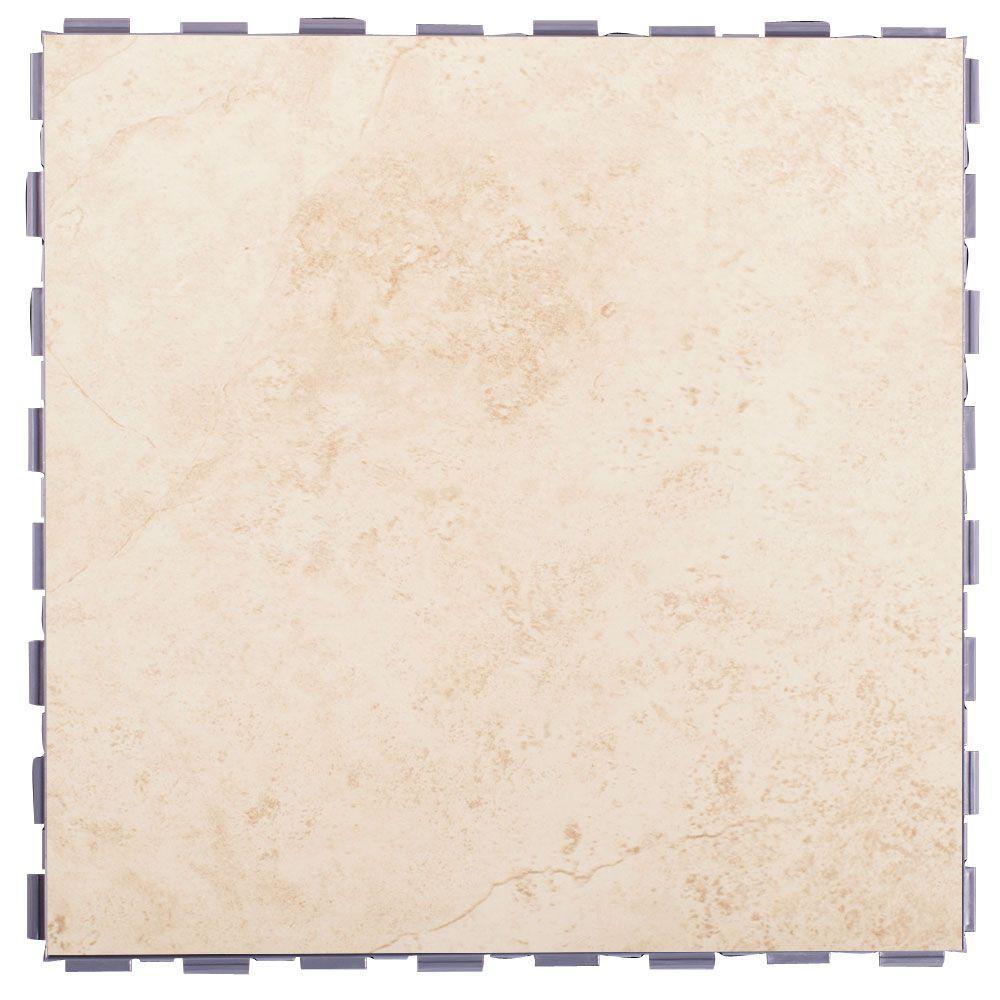 Beige 12 in. x 12 in. Porcelain Floor Tile (5 sq. ft. / case)