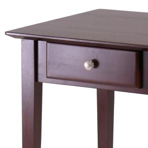 Gentil Internet #301021309. +3. Winsome Wood Rochester Walnut End Table