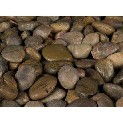0.5 cu. ft. 3 cm to 5 cm Imperial Beach River Rock 40 lbs. Bag (21-Bags/Pallet)