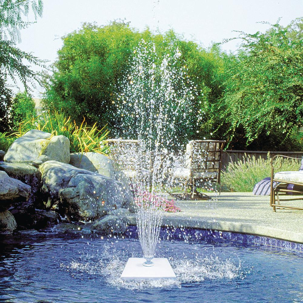 Poolmaster Grecian Floating Swimming Pool Fountain