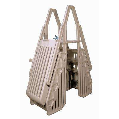 Neptune A-Frame Entry System for Above Ground Pools in Taupe