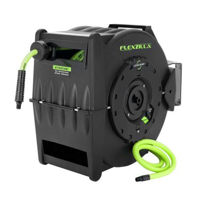 3/8 in. Dia x 50 ft. Retractible Air Hose Reel with Levelwind Technology