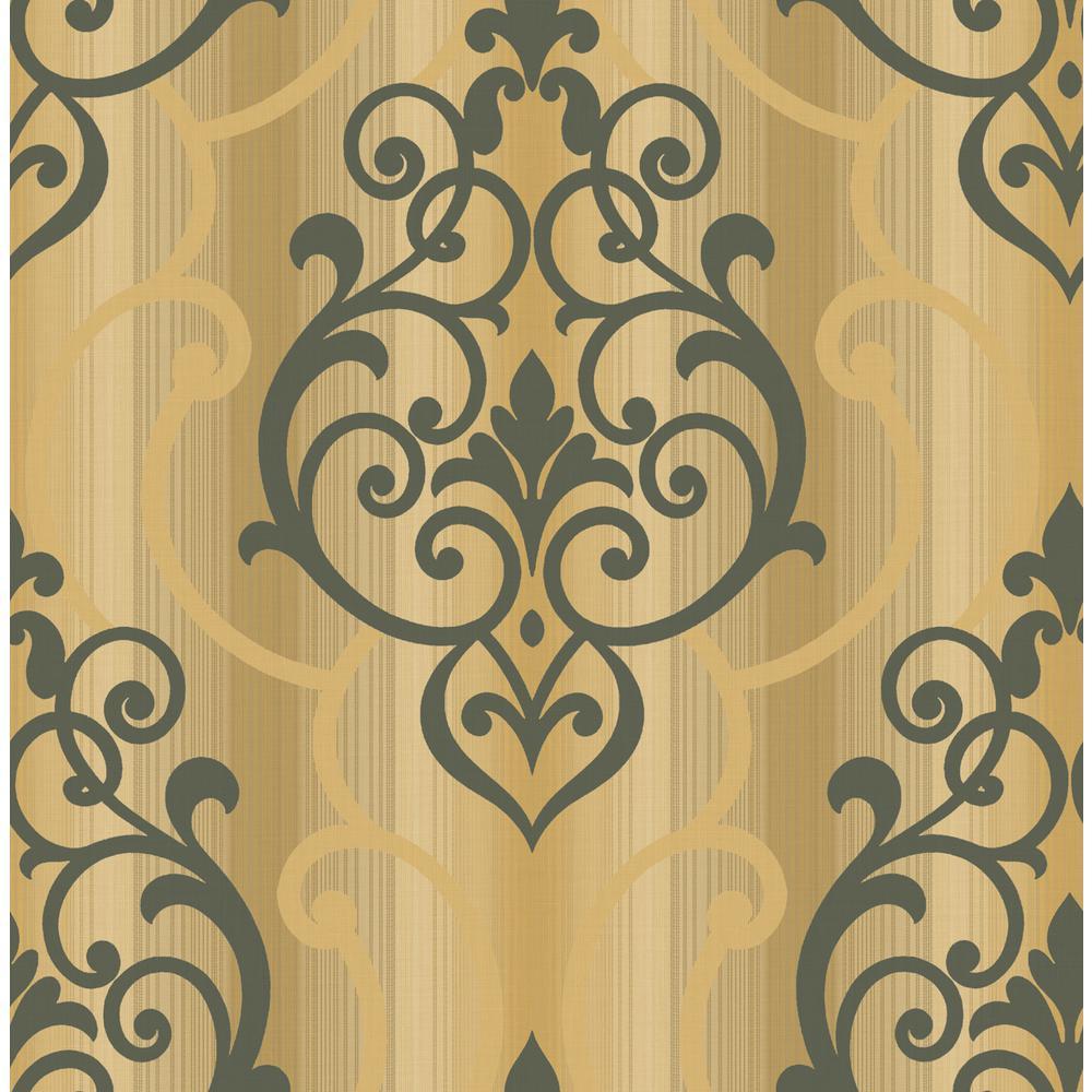 Feldspar Damask Paper Strippable Roll (Covers 56 sq. ft.)