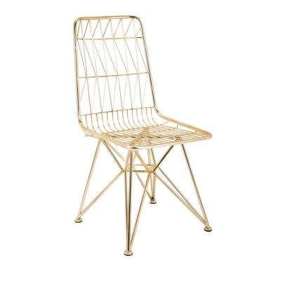 Larkin Gold Chair