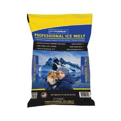 50 lb. Screened Pro Powermelt + with Corrosion Inhibitor Anti-caking Agent and Color Indicator Pallet (49-Bags)