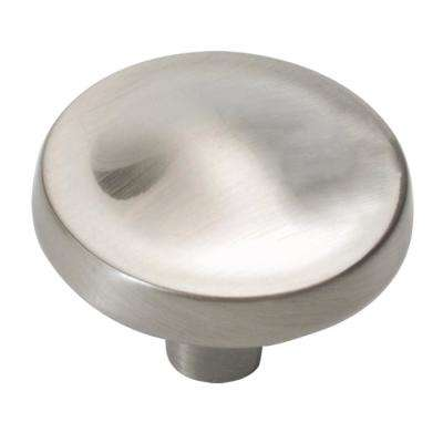 Arc Collection 1-1/4 In. Diameter Satin Nickel Cabinet Drawer & Door Knob