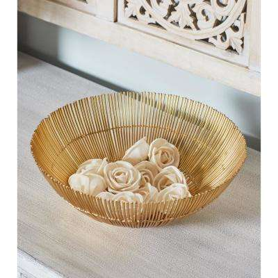 White Sola Boxed Rose Flowers (Set of 2)