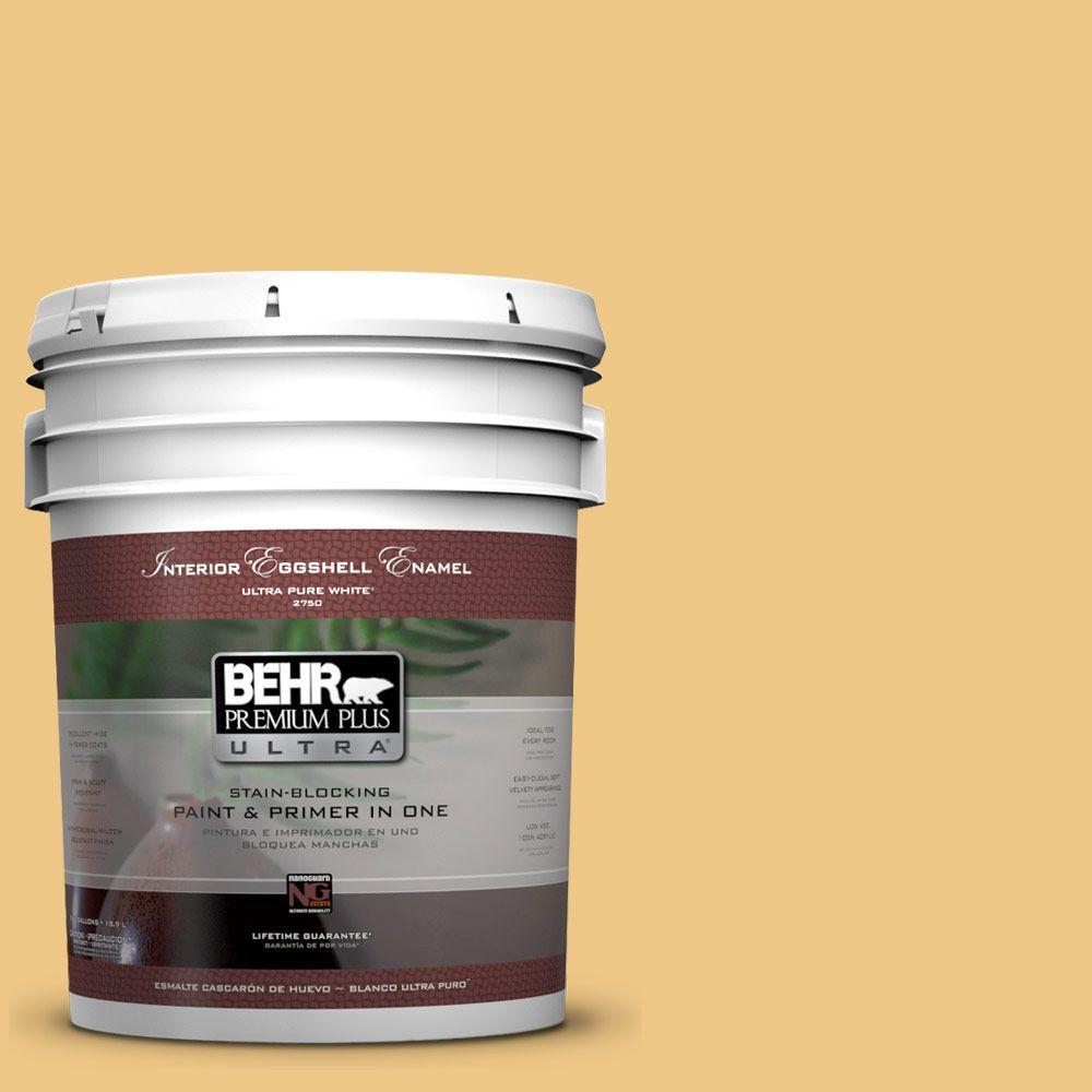 BEHR Premium Plus Ultra 5-gal. #M290-4 Garbanzo Paste Eggshell Enamel Interior Paint