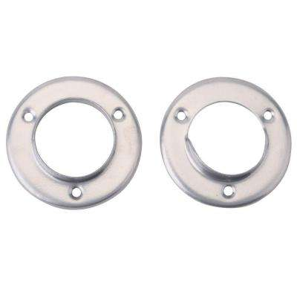 Platinum Steel Closet Pole Sockets (2-Pack)