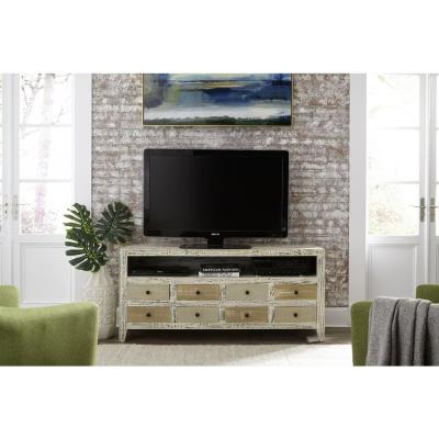 Mojave 61 in. Distressed Variety of Neutrals Entertainment Console