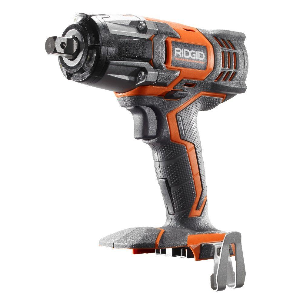 Ridgid X4 18 Volt 1 2 In Impact Wrench Tool Only