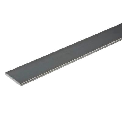 1/2 in. x 72 in. Plain Steel Flat Bar with 1/8 in. Thick