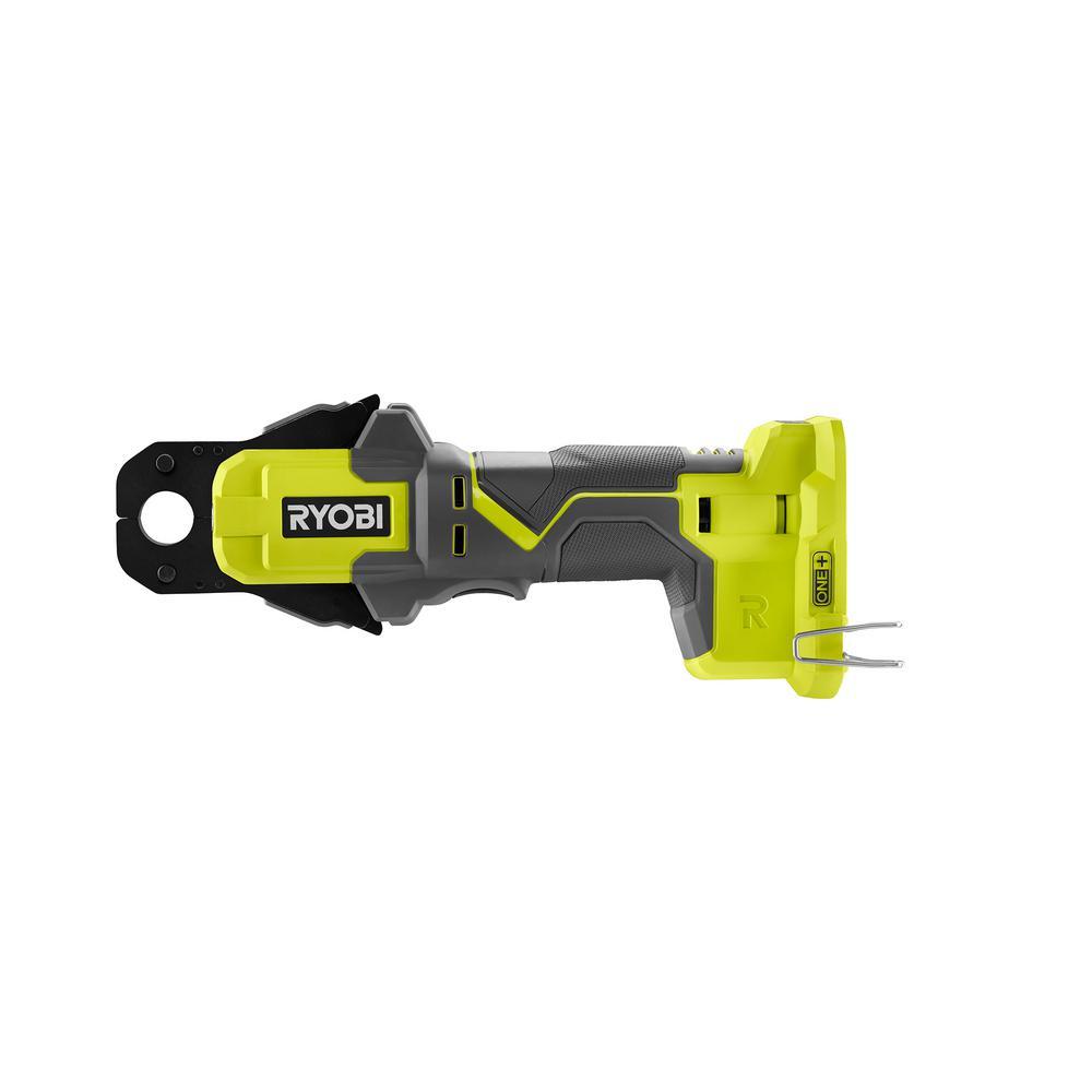 RYOBI 18-Volt ONE+ PEX Crimp Ring Press Tool (Tool Only)