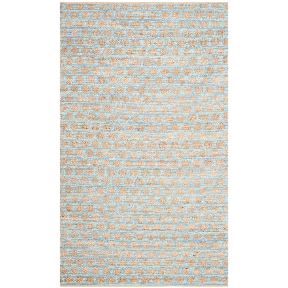 Safavieh Cape Cod Blue Natural 5 Ft X 8 Area Rug